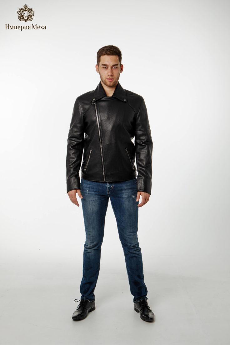 Кожаная куртка Viva