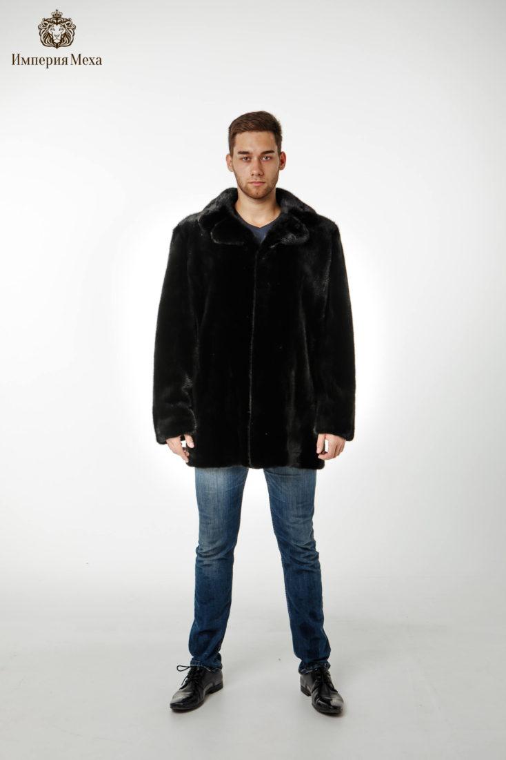 Норковая куртка мужская