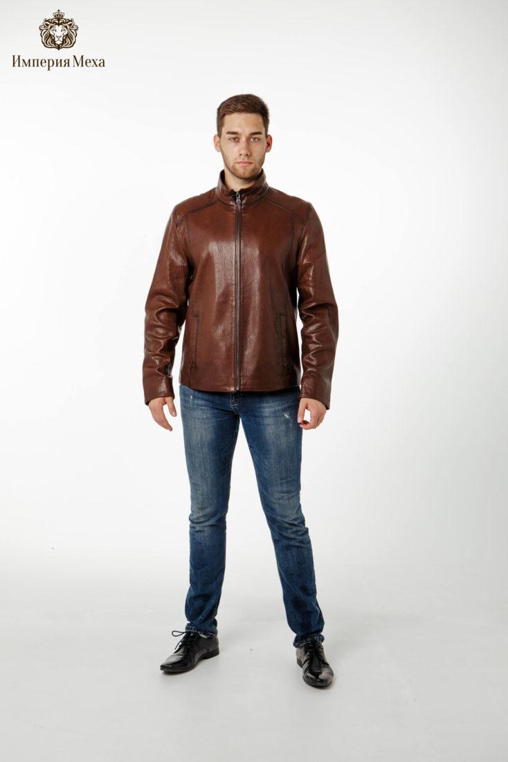 Куртка кожаная Dio