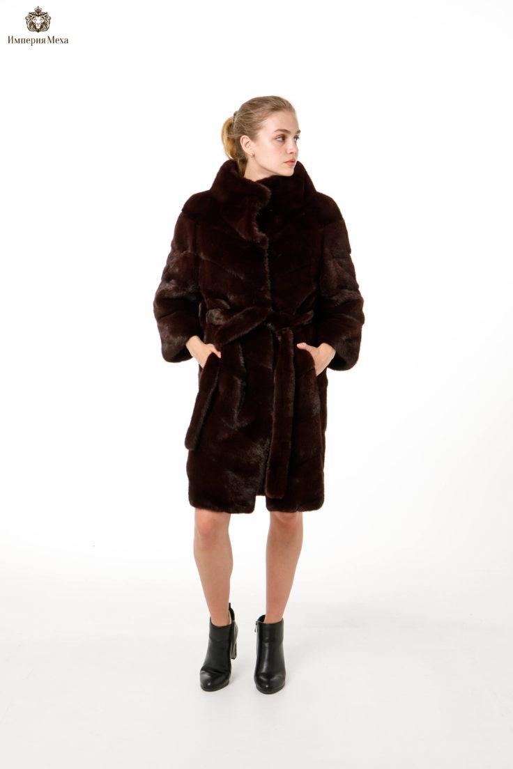 Шуба норковая Меховая Мода