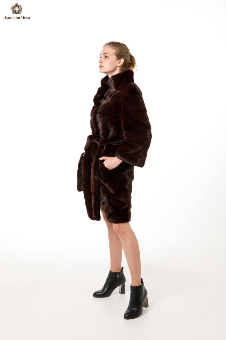 Шуба норковая Меховая Мода 569