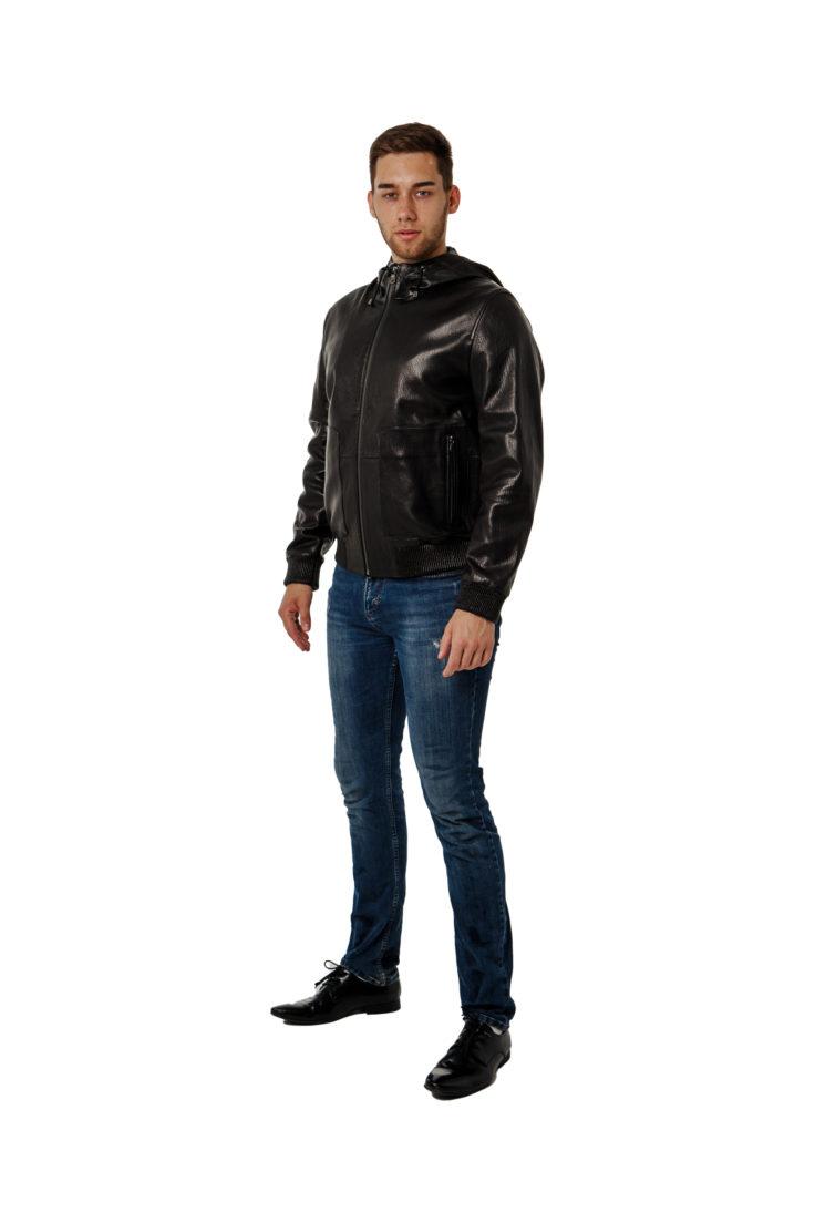 Кожаная куртка Steel