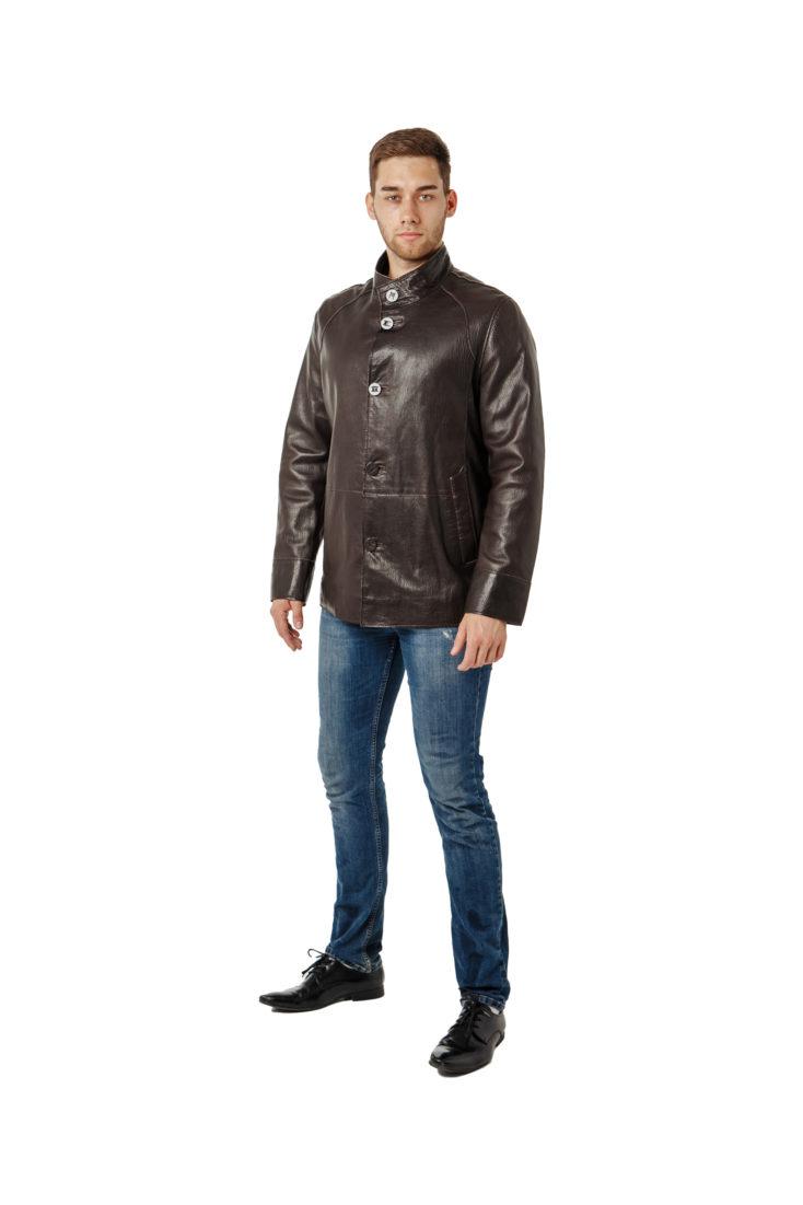 Куртка кожаная steel