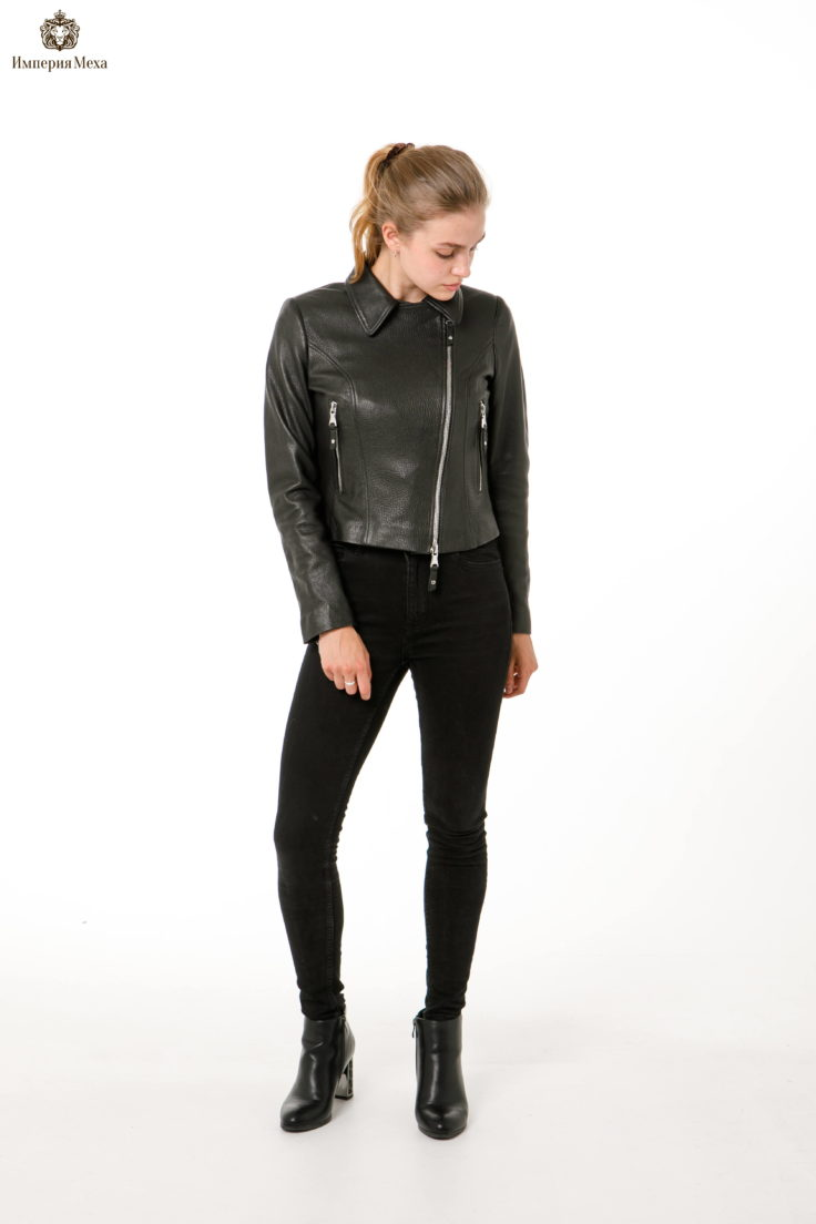Кожаная куртка-косуха Nebraska