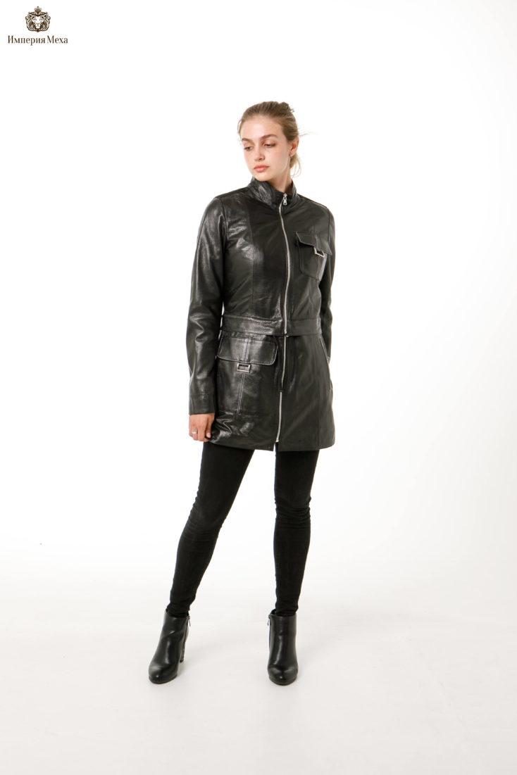 Кожаная куртка-трансформер Rubis