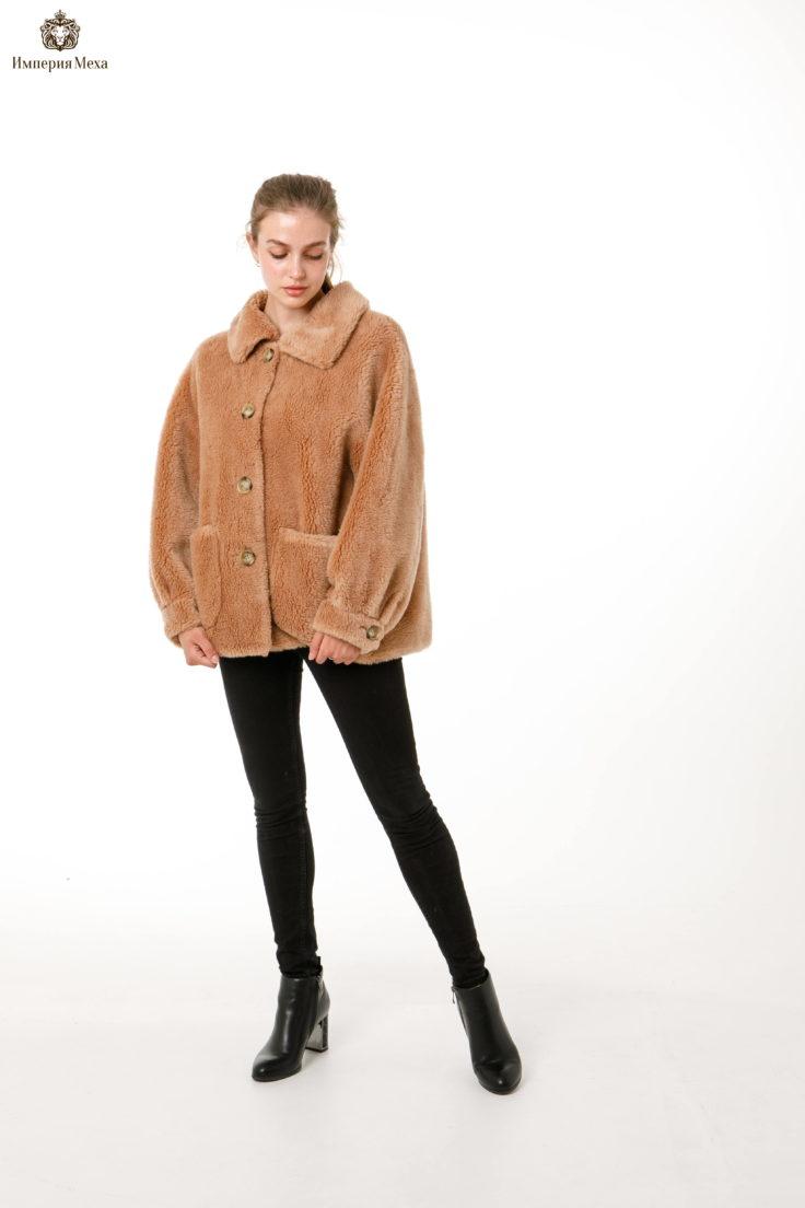 Куртка демисезонная шерсть 100%