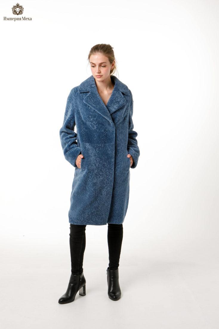 Полупальто из меха овчины Alliance furs