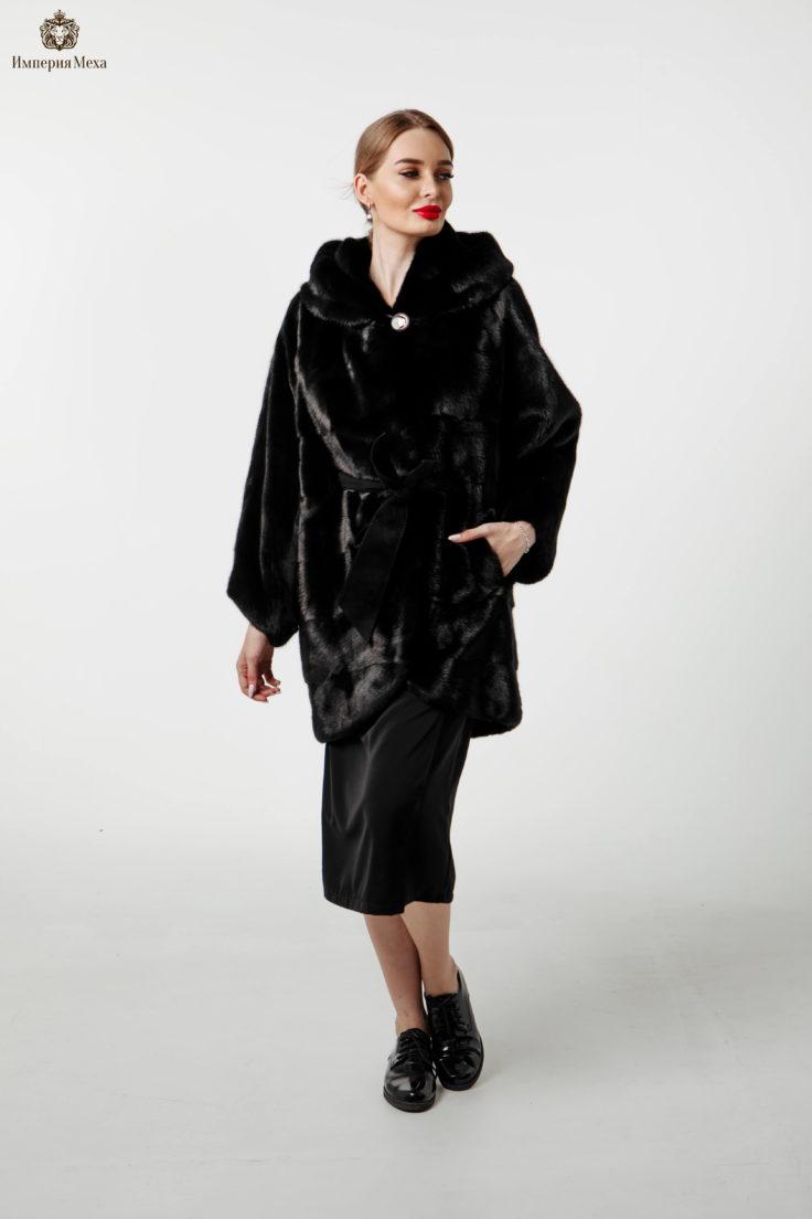 Шуба норковая Меховая Мода 636-75