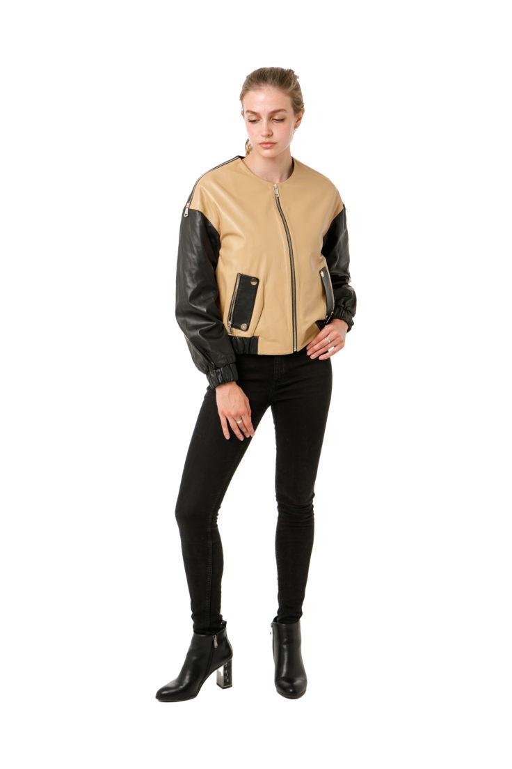 Куртка кожаная Tony