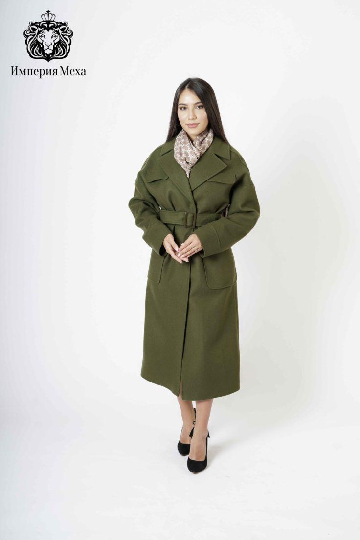 Пальто женское шерстяное idekka д-2019