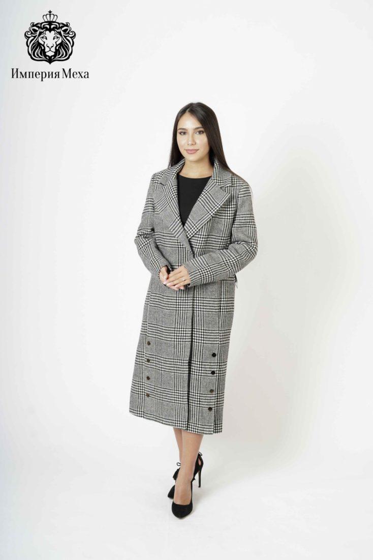 Пальто женское шерстяное 619