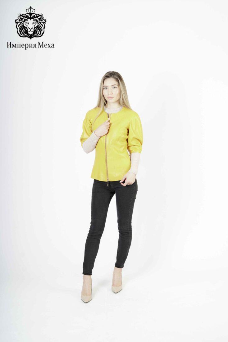 Кожаная куртка женская Mefi Z-1695