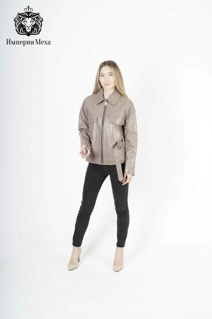 Кожаная куртка женская Tony Grazza 4787