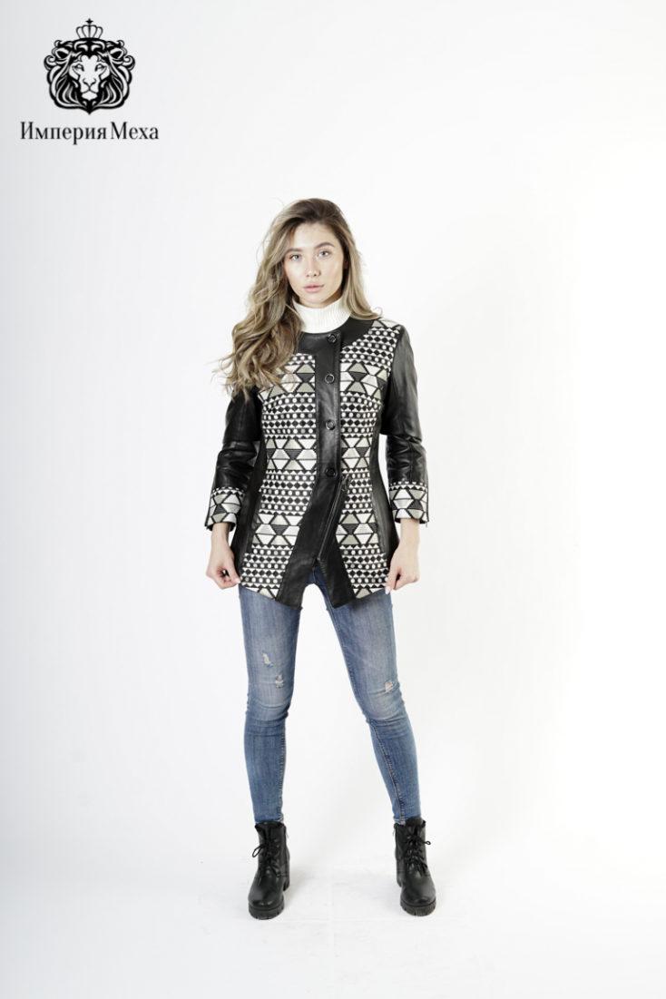 Кожаная куртка женская PANTERREZ 2128-01