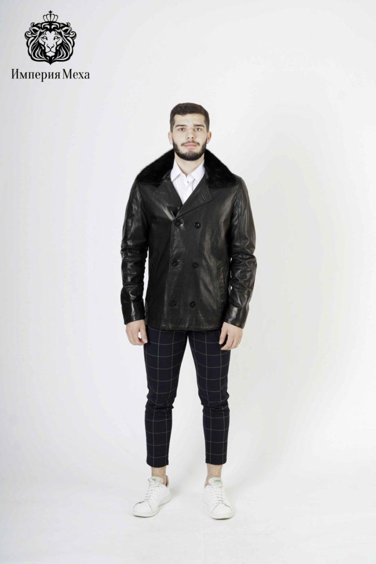 Кожаная куртка мужская Steel 2933