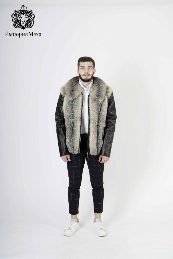 Шуба из меха корсака Отрада(В) куртка