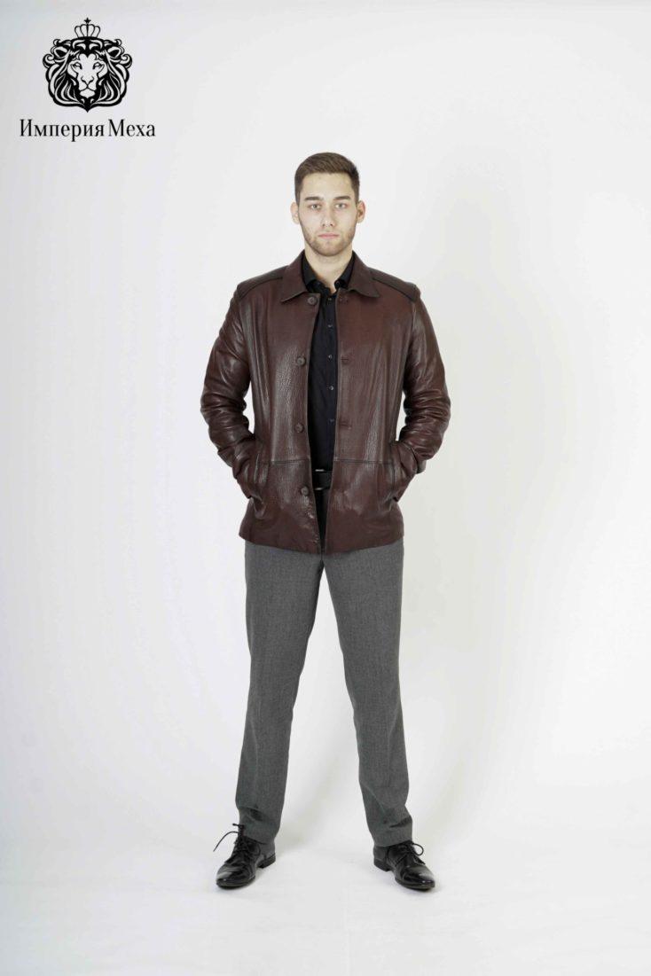 Кожаная куртка мужская Wera Vanga D 187