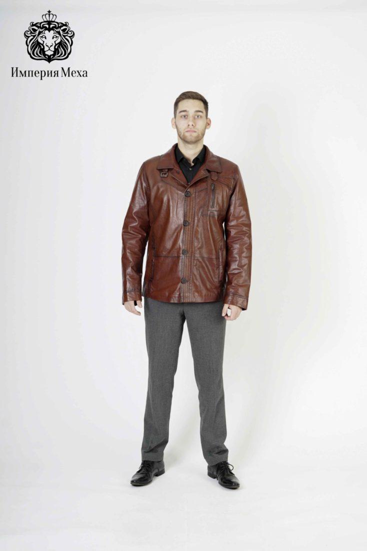 Кожаная куртка мужская 8220