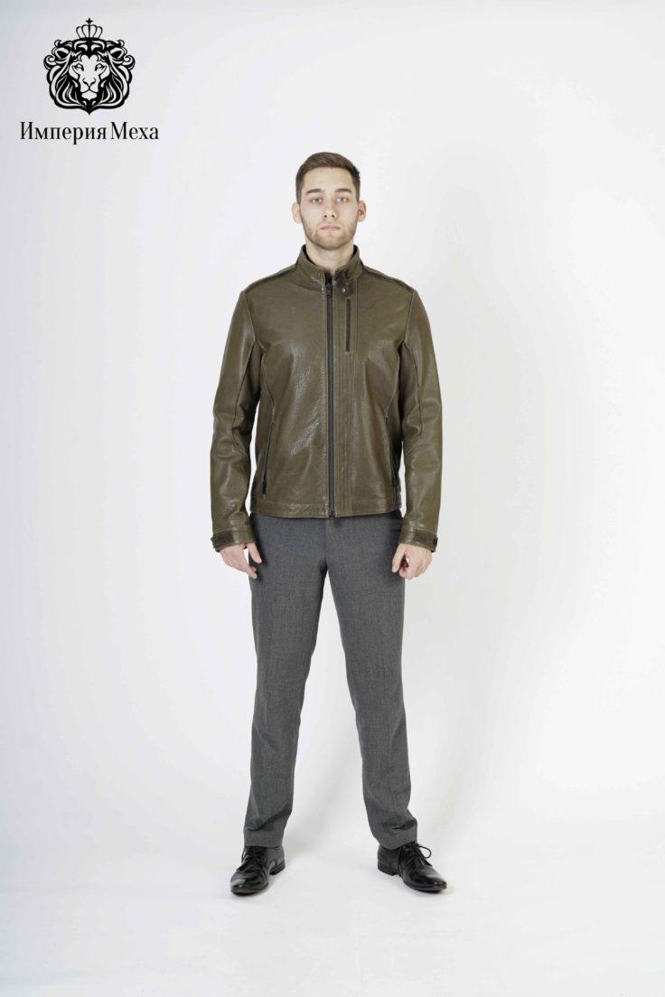 Кожаная куртка мужская Grazza E2011