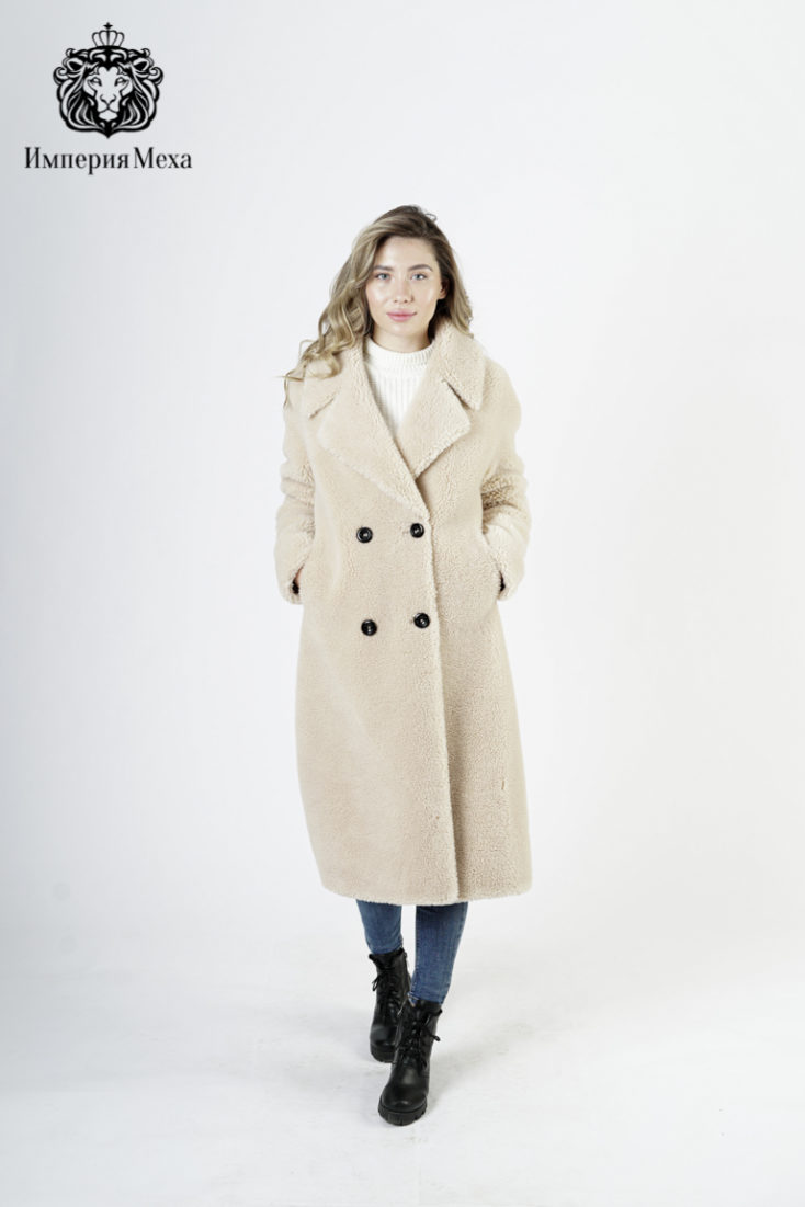 Пальто женское шерстяное 9802