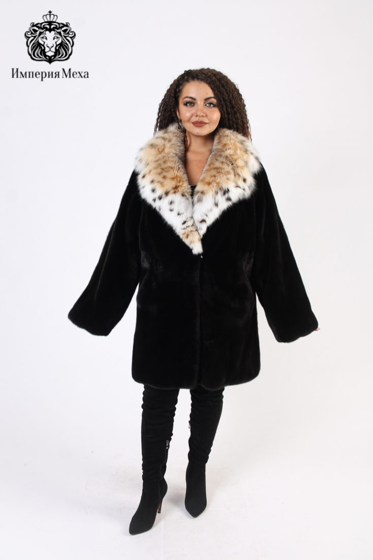 Шуба норковая MR Furs by Makis Roussoulis G-CT/GB-100