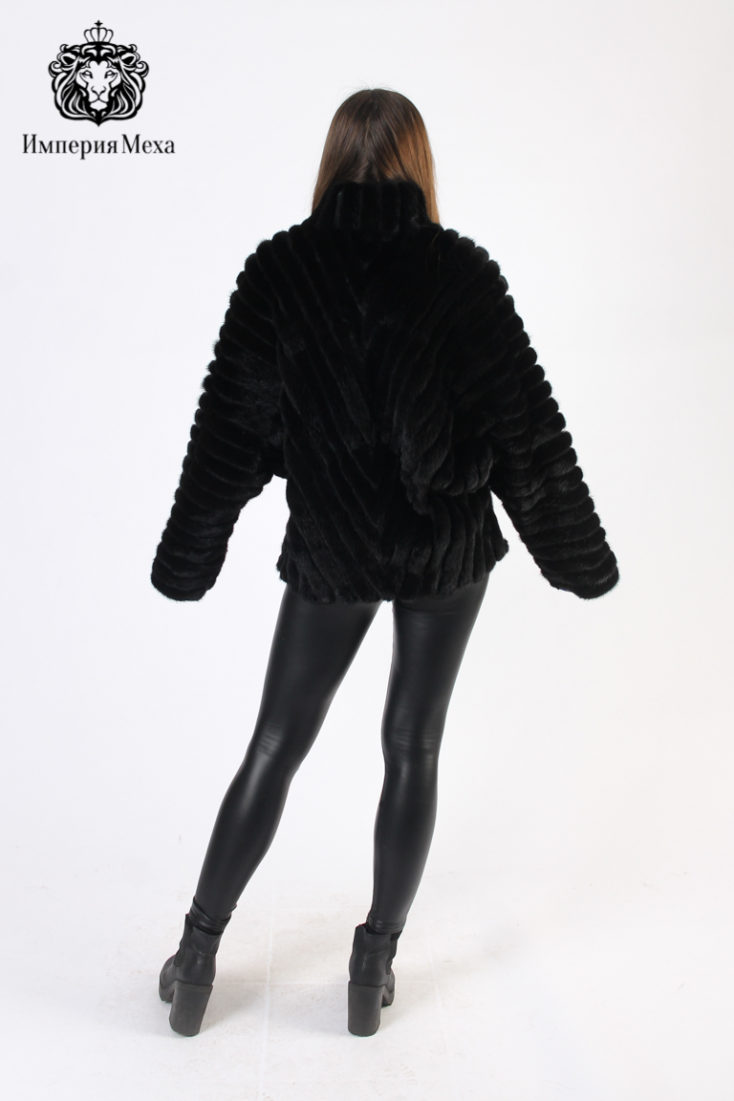 Шуба из меха норки Меховая Мода 537