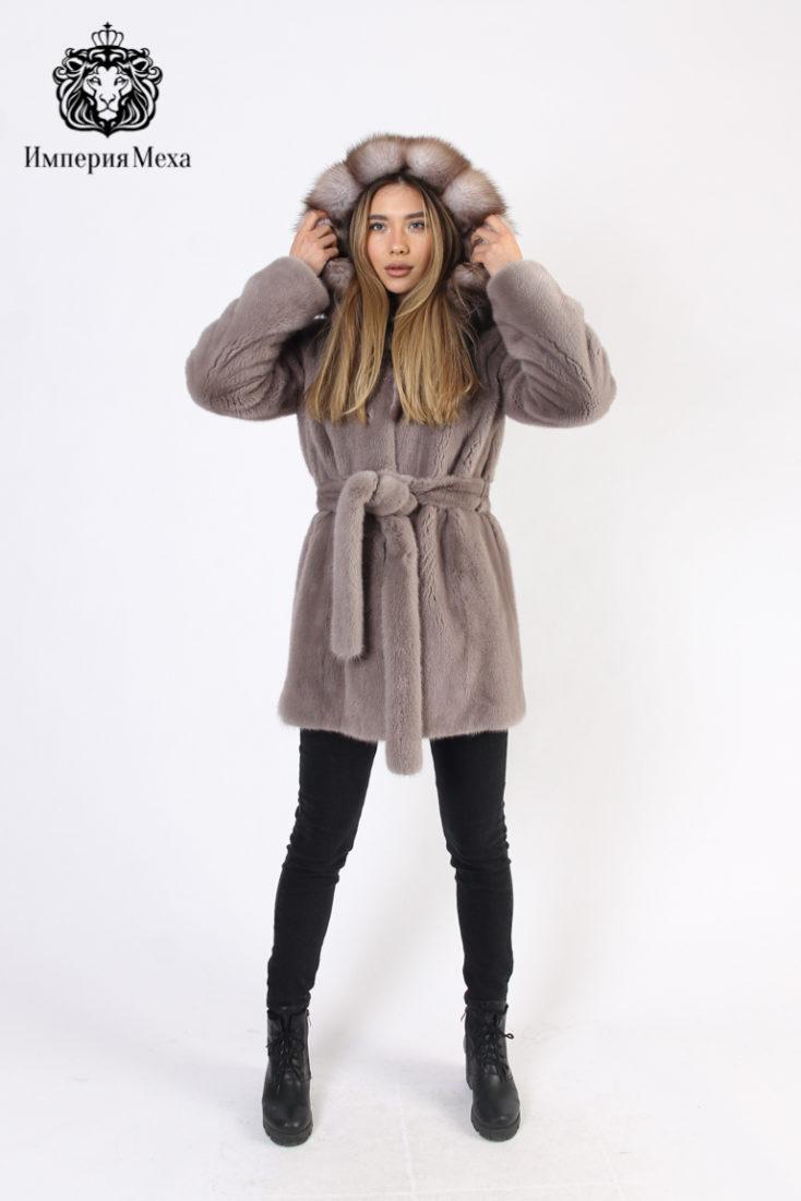 Шуба из меха норки PT quality furs I 17-770