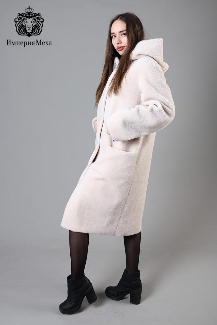 Шуба из экомеха GVR Premium Furs M-2053/1