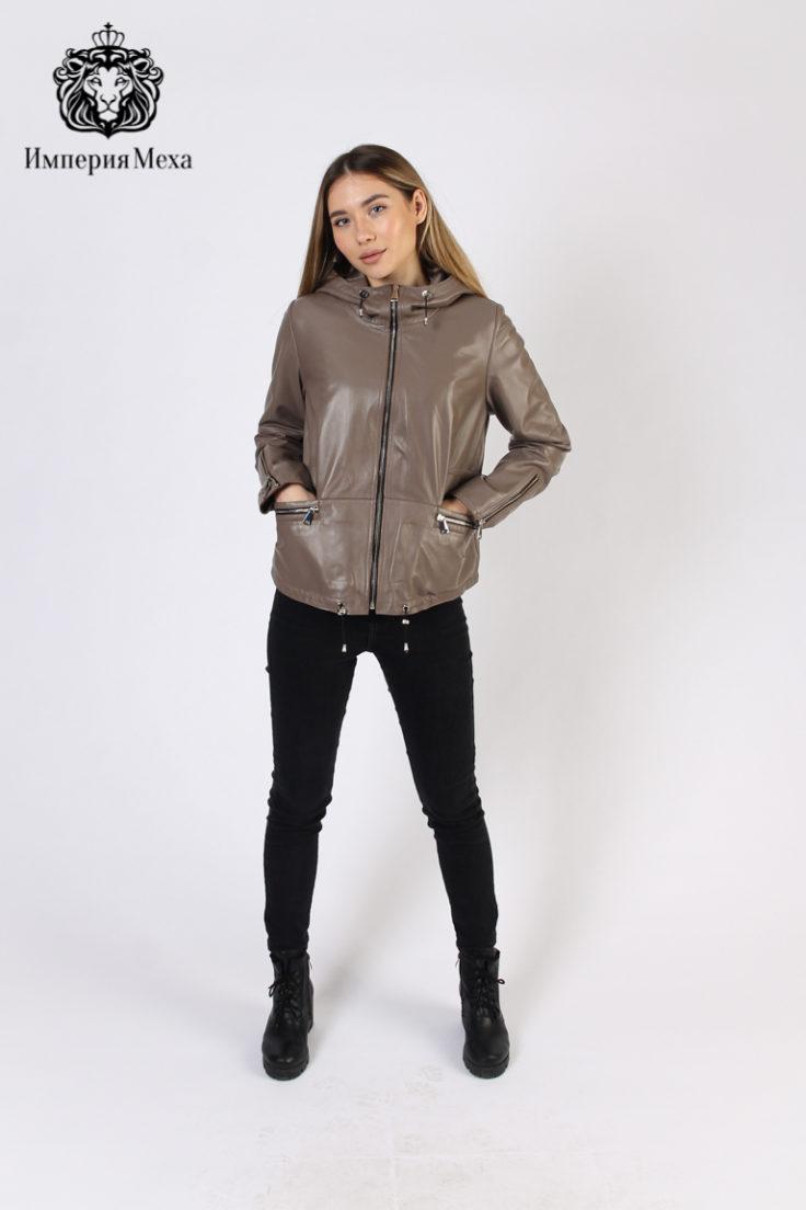 Кожаная куртка женская Tony Grazza 4813