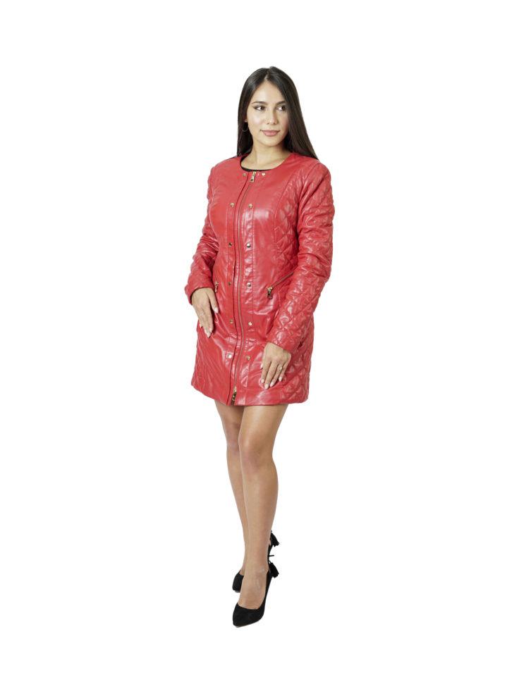 Кожаная куртка женская TORRIN D 3443