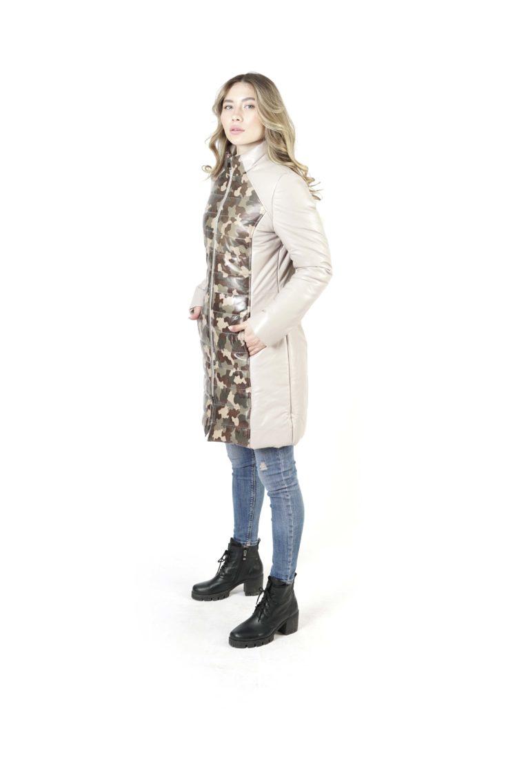 Кожаная куртка женская BELLUCCI 4105