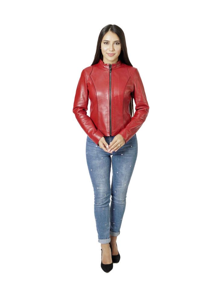 Кожаная куртка женская Dio Gomez 15469-A
