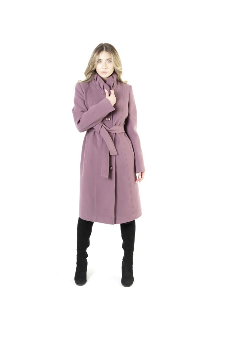 Пальто женское шерстяное Т1-737/100