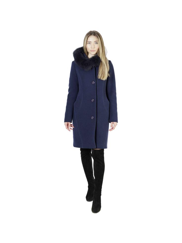 Пальто женское шерстяное 43