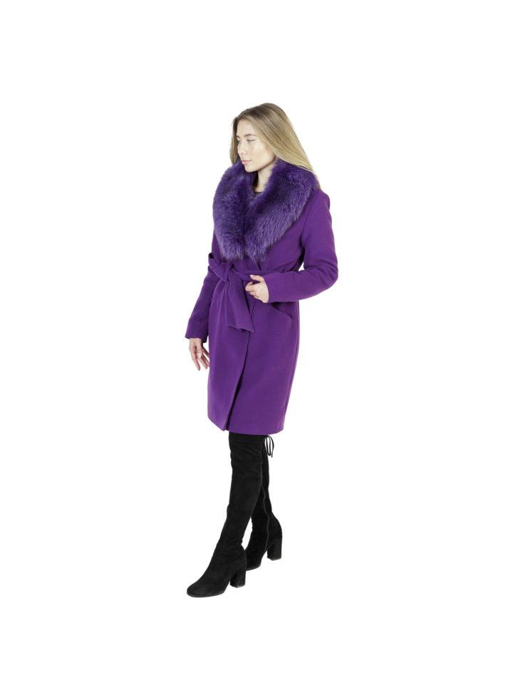 Пальто женское шерстяное 549
