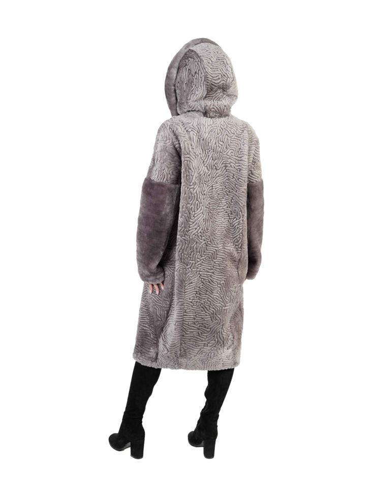 Шуба из овчины Мутон Sofia Furs B281