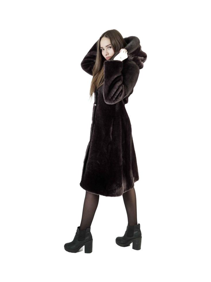 Шуба из овчины Мутон Арина Furs M-254