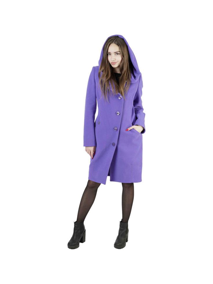 Пальто женское шерстяное Славянка Т1-703