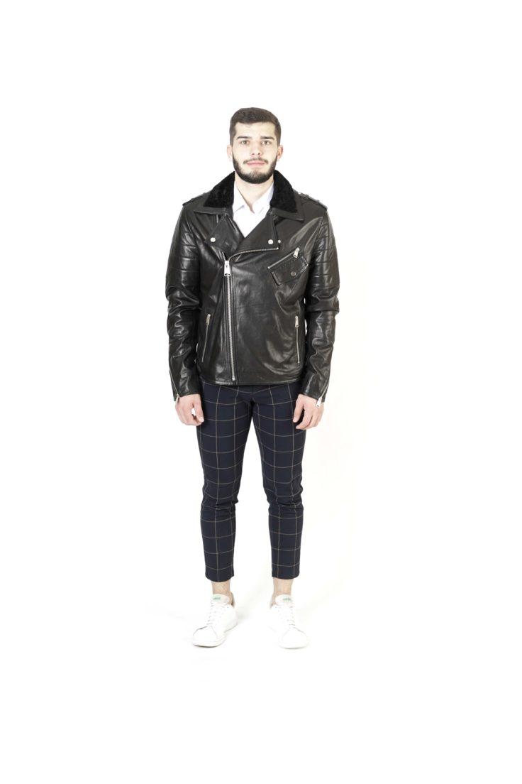 Кожаная куртка мужская Dio Gomez 20135