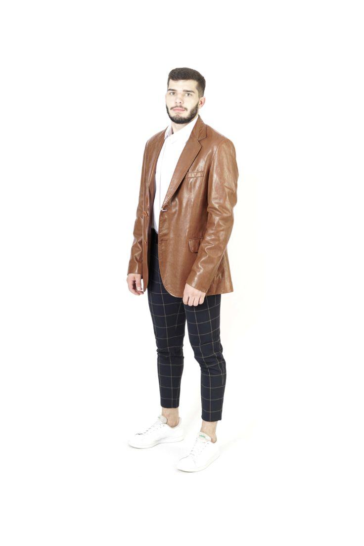 Кожаная куртка мужская Simge 1753-3