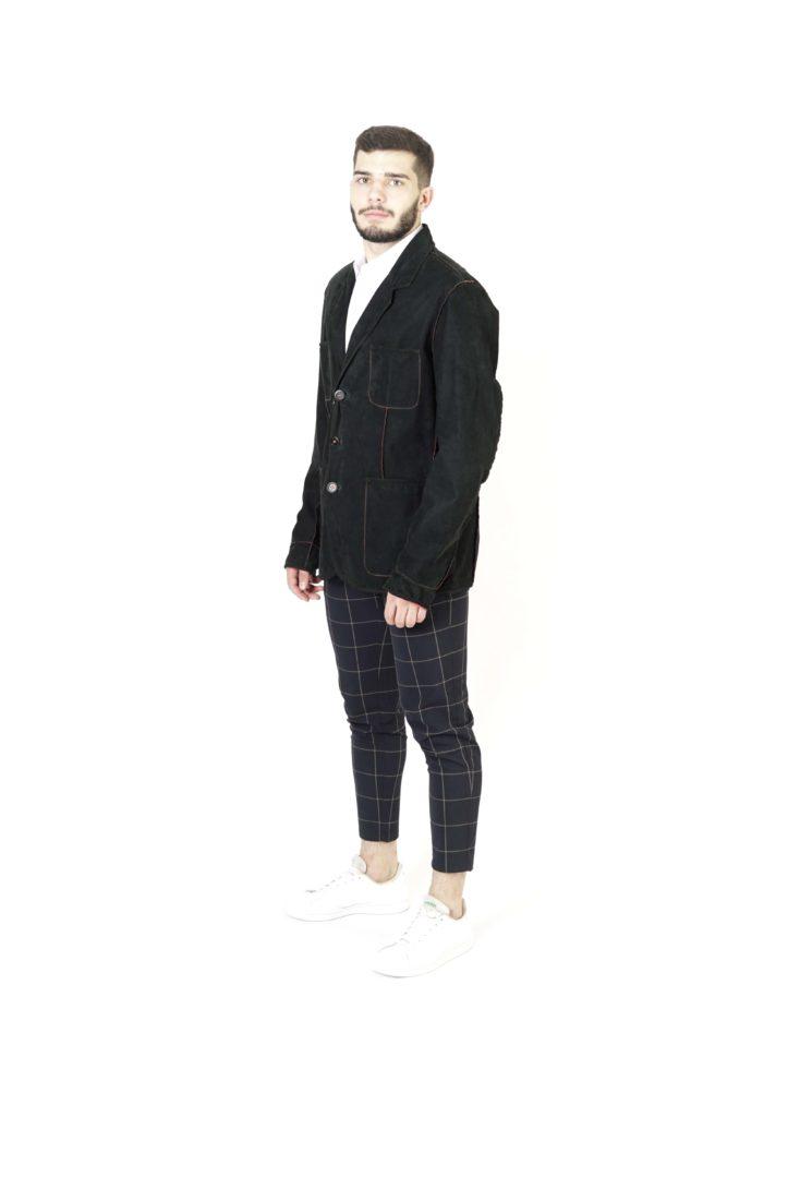 Кожаная куртка мужская Pandas 13-S-303 A