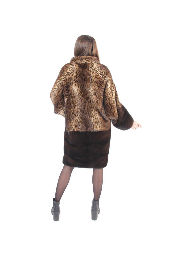 Шуба норковая Меховая Мода 494-16