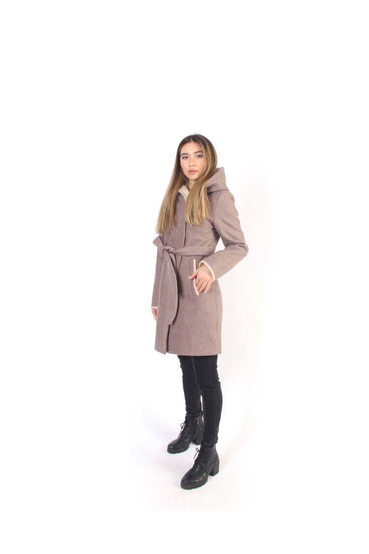 Пальто женское шерстяное 605