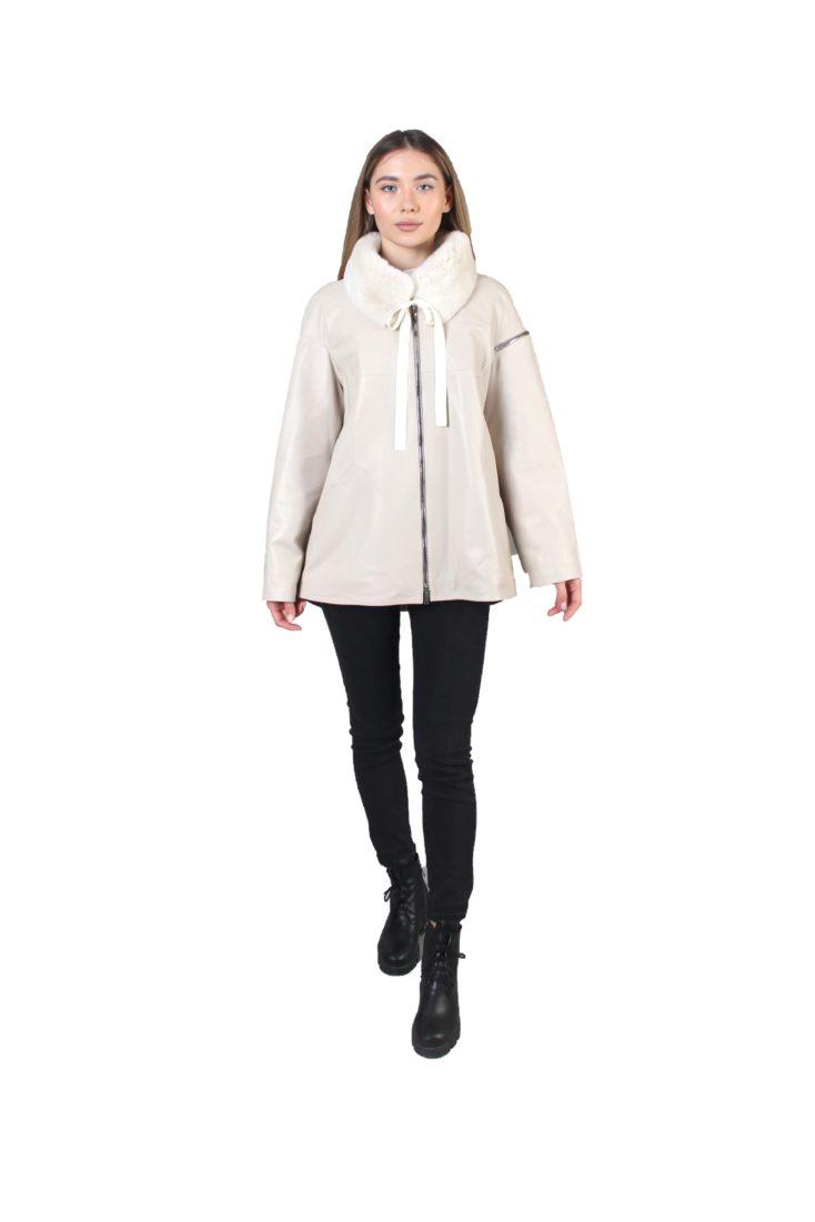 Кожаная куртка женская Alliance Trans 4810