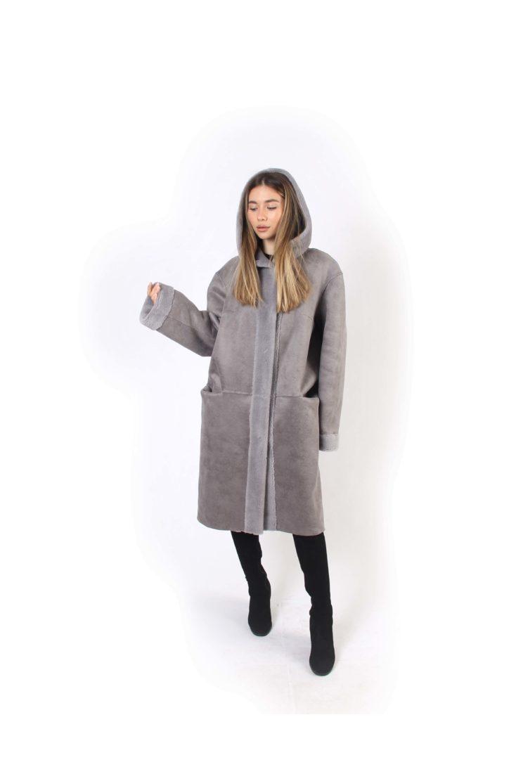 Шуба из экомеха GVR Premium Furs M2053/1