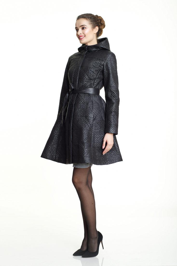 Пуховик-платье 142