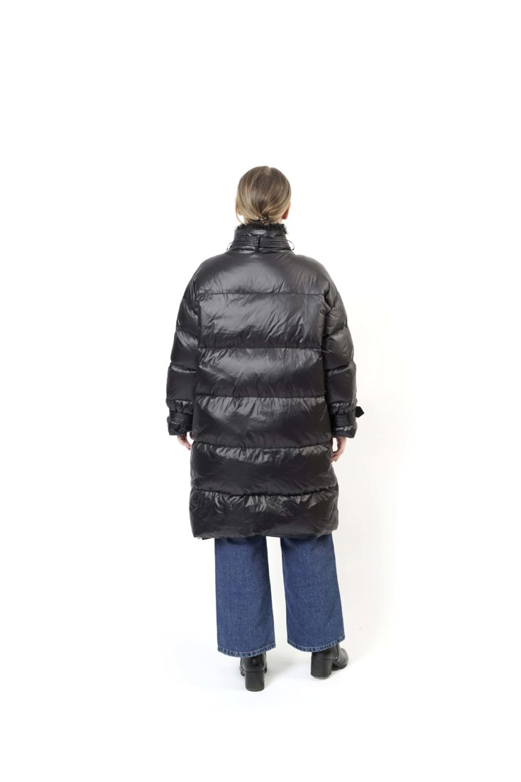 Пуховик женский Furs collection