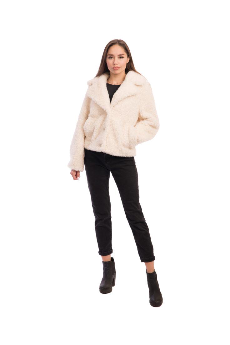 Женская кожаная куртка 15538-23