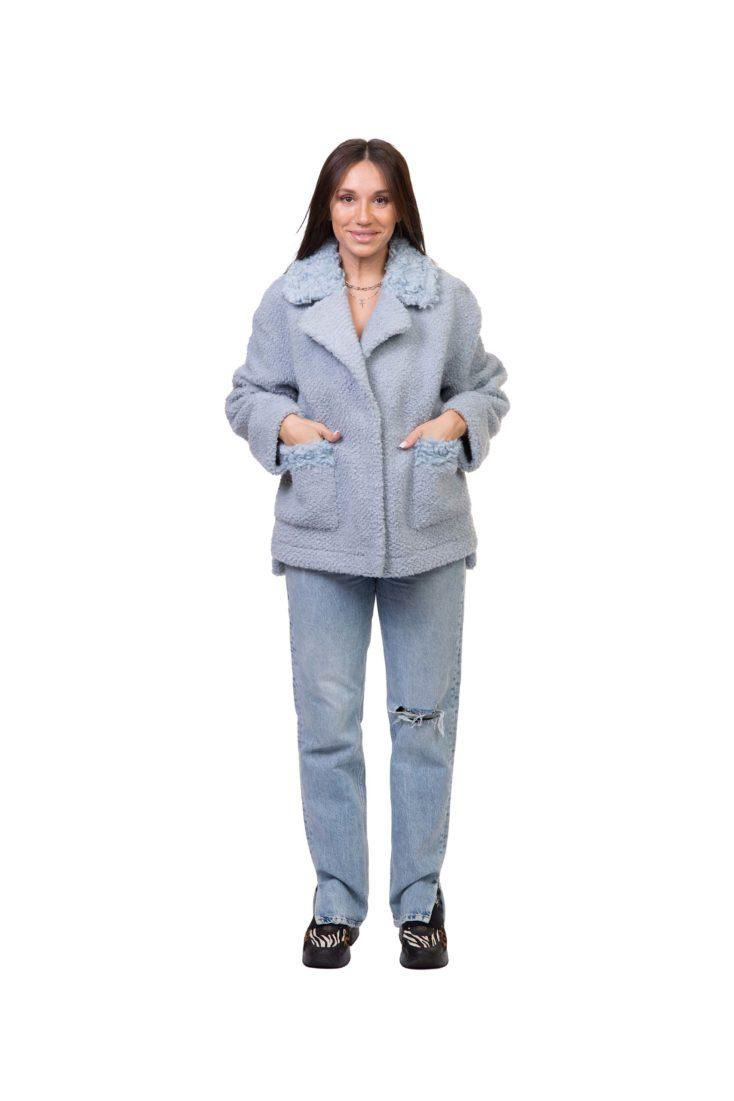 Куртка женская из экомеха GRV Premium Furs M-2157