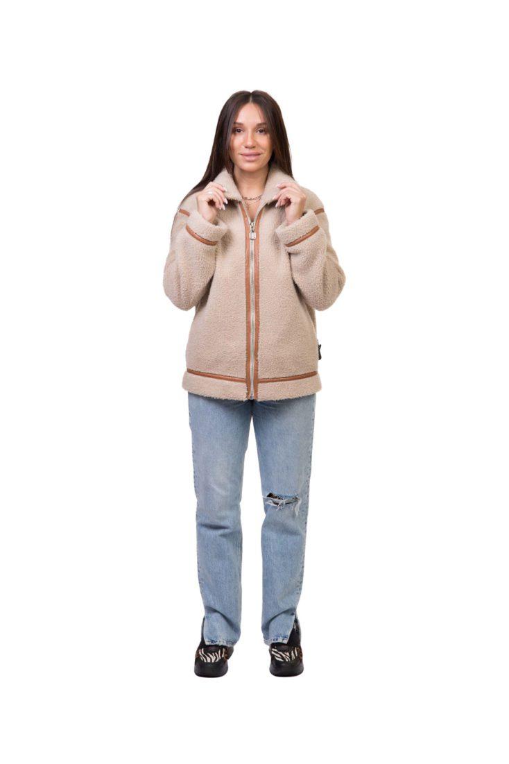 Куртка женская из экомеха GRV Premium Furs M-2115